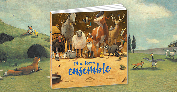 Plus forts ensemble de Susan Vaught et Kelly Murphy